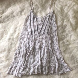 En Creme boho boutique tank top mini dress Medium